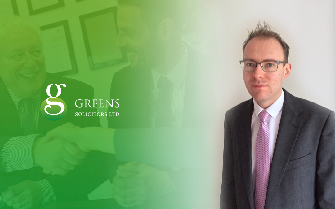 William Ham To Join Greens Solicitors on the 1st of May