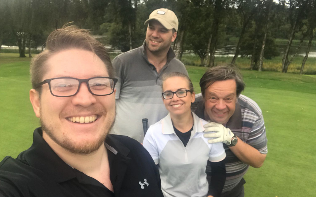 Greens Solicitors  at No 5 Barrister Chambers Golf day, Edgbaston Golf Club.