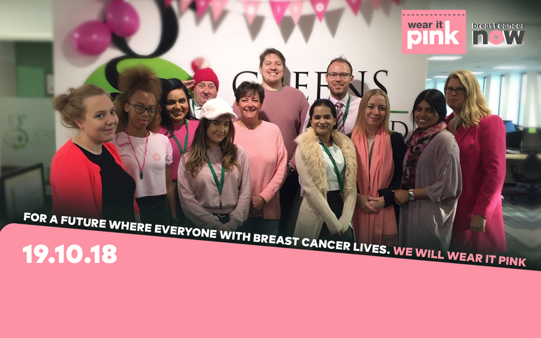 Greens turns Pink for Breast Cancer Now